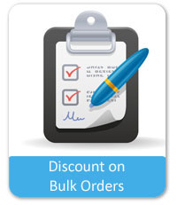 Discount on Bulk Orders