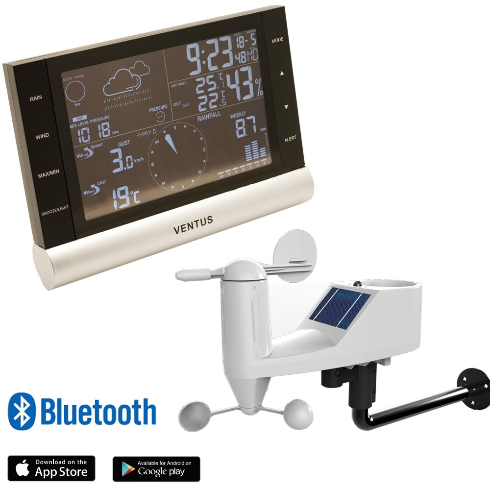 ventus bluetooth professional weather station. Black Bedroom Furniture Sets. Home Design Ideas