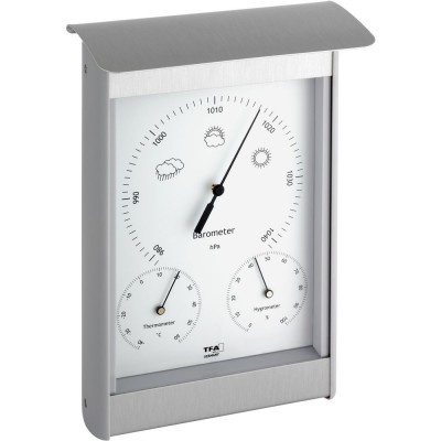 Outdoor Metal Barometer 21.5cm