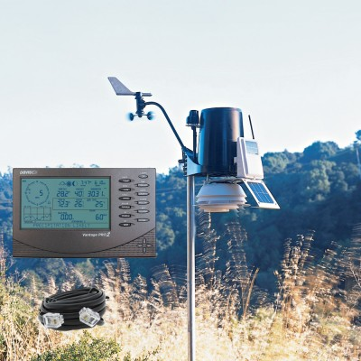 Cabled Vantage Pro2 With UV & Solar Radiation Sensors Bundle