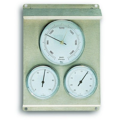 Outdoor Metal Barometer 22cm