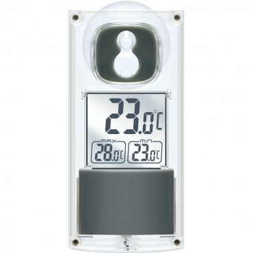 Bresser Solar Powered Window Thermometer