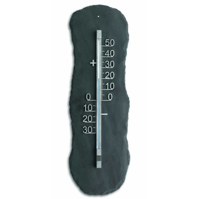 Outdoor Natural Slate Thermometer 60cm