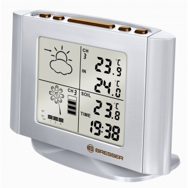 Bresser Wireless Forecaster with Plant Watering Indicator