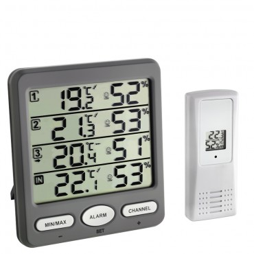 Klima Monitor Wireless Min/Max Thermo-Hygrometer