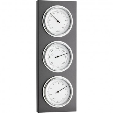 Outdoor Metal Barometer 38cm