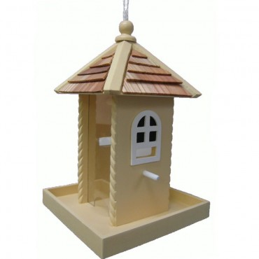 Yellow Nestling Bird Feeder