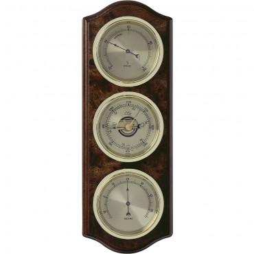 Root Timber Barometer 33.5cm