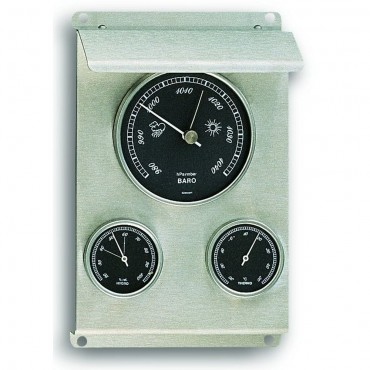 Outdoor Metal Barometer 19.5cm