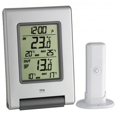 Wireless Indoor & Outdoor Min/Max Thermometer