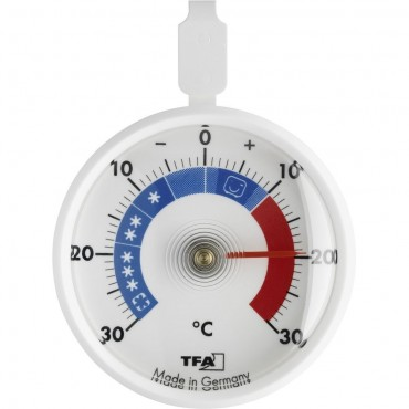 Round Fridge-Freezer Thermometer