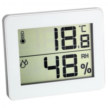 Ultra-Flat Digital Thermo-Hygrometer