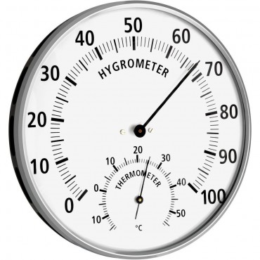 Thermo-Hygrometer Hair Synthetic 13.2cm