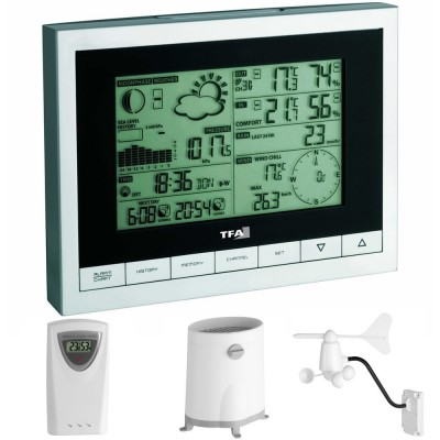 TFA Sinus Wireless Full Weather Station