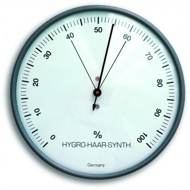 Grey Hair Hygrometer 10.3cm
