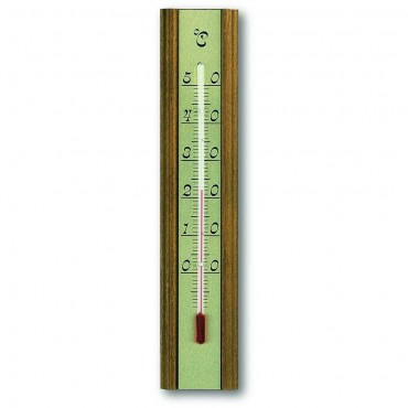 Indoor Oak Thermometer 20cm
