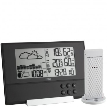 TFA Pure Plus Wireless Weather Station Forecaster