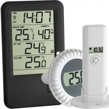 Wireless Pool/Pond/WaterThermometer & Outdoor Air Sensor
