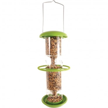 Large Plastic Bird Feeder
