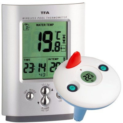 Wireless Min/Max Pool/Pond/Water Thermometer