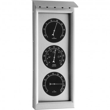 Outdoor Metal Barometer 35cm