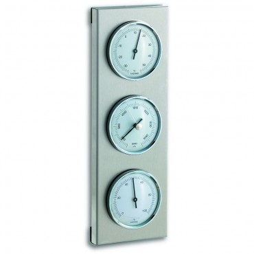 Outdoor Metal Barometer 28cm