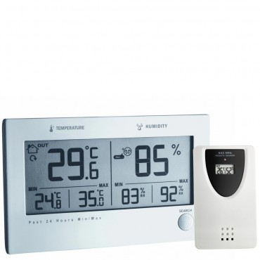 Twin Plus Wireless Min/Max Thermo-Hygrometer