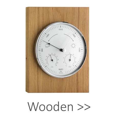 Wooden Barometers