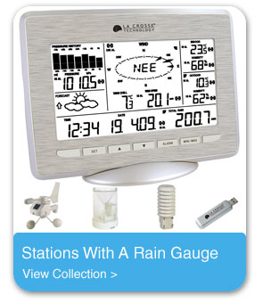 Stations With A Rain Gauge